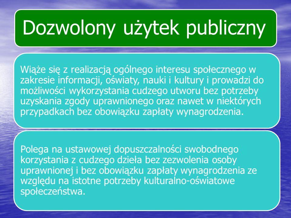 Dozwolony użytek publiczny