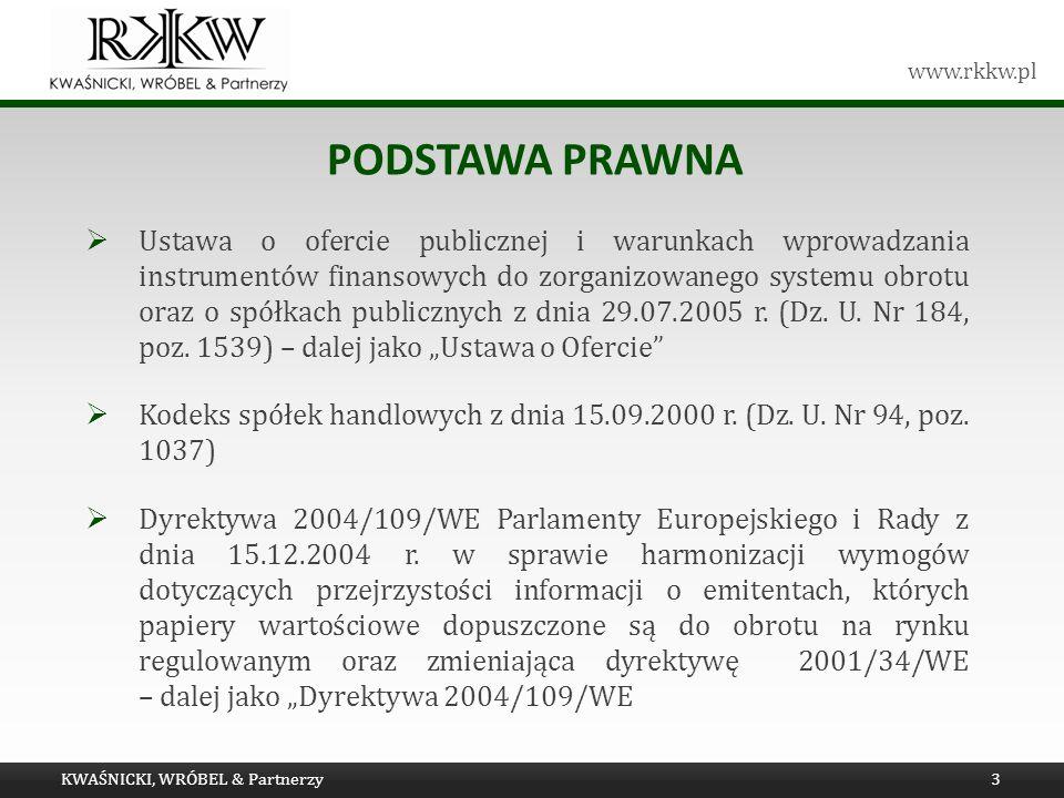 Tytuł prezentacji Podstawa prawna.