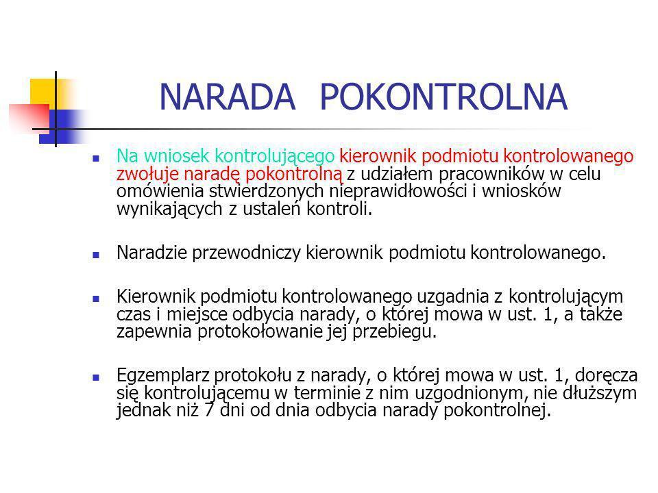NARADA POKONTROLNA