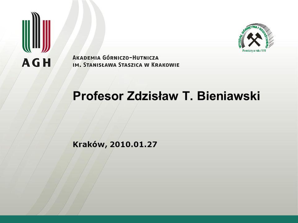 Profesor Zdzisław T. Bieniawski