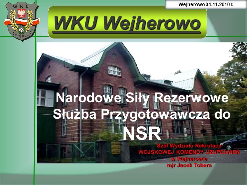 WKU Wejherowo Narodowe Siły Rezerwowe Służba Przygotowawcza do NSR