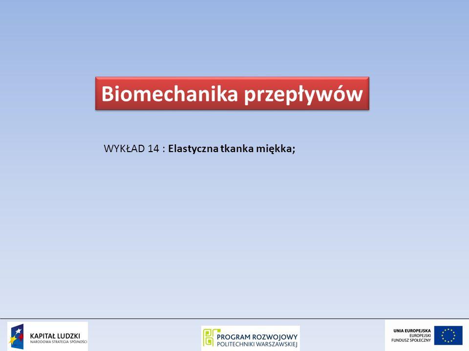 Biomechanika przepływów