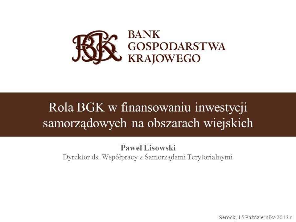 Paweł Lisowski Dyrektor ds. Współpracy z Samorządami Terytorialnymi