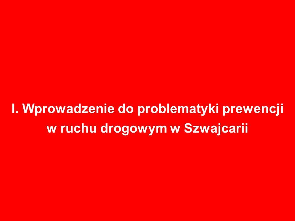 I. Wprowadzenie do problematyki prewencji w ruchu drogowym w Szwajcarii