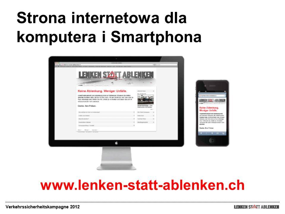 Strona internetowa dla komputera i Smartphona