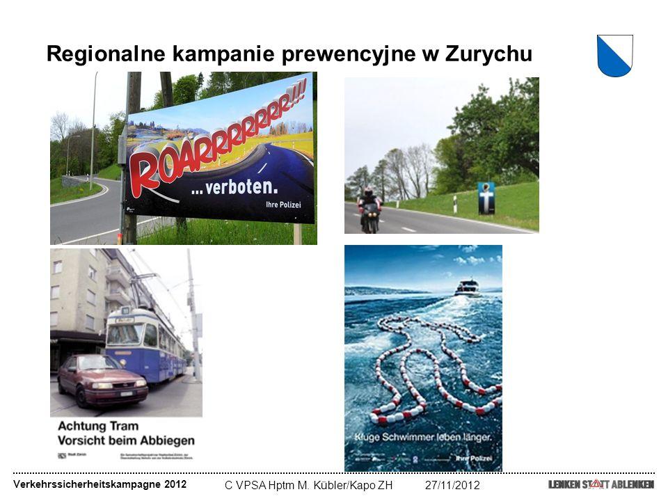 Regionalne kampanie prewencyjne w Zurychu