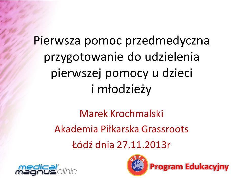 Marek Krochmalski Akademia Piłkarska Grassroots Łódź dnia 27.11.2013r