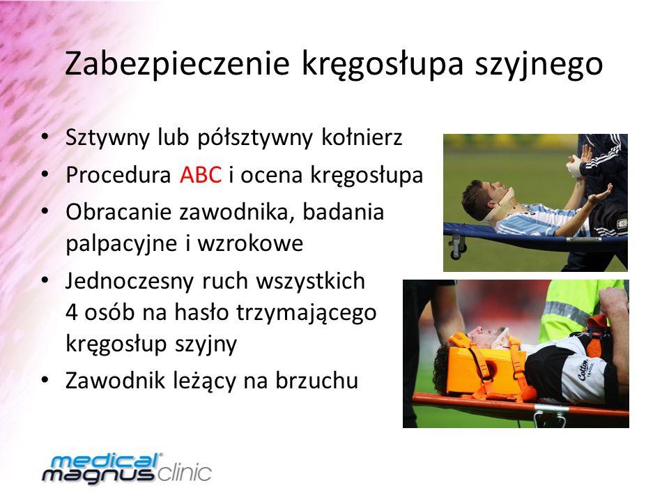 Zabezpieczenie kręgosłupa szyjnego