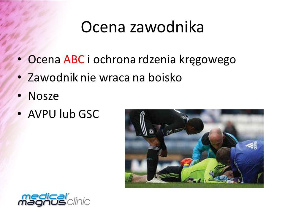 Ocena zawodnika Ocena ABC i ochrona rdzenia kręgowego