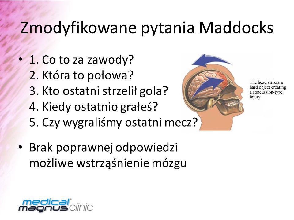Zmodyfikowane pytania Maddocks