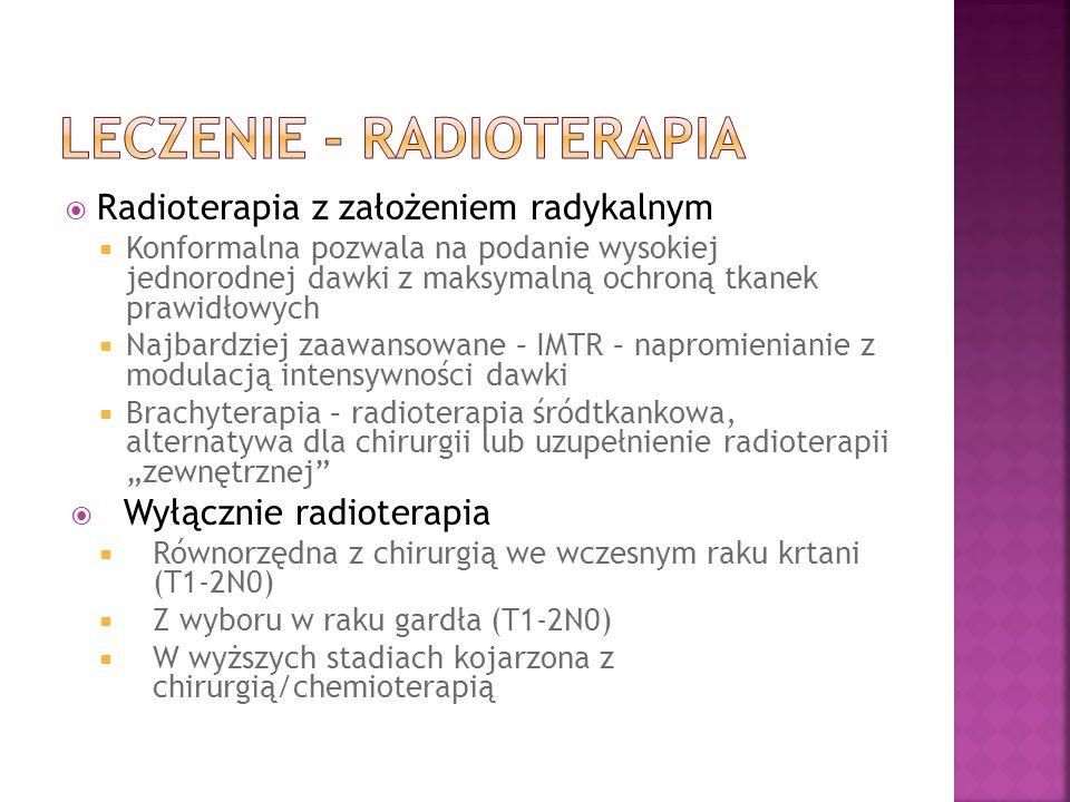 Leczenie - radioterapia