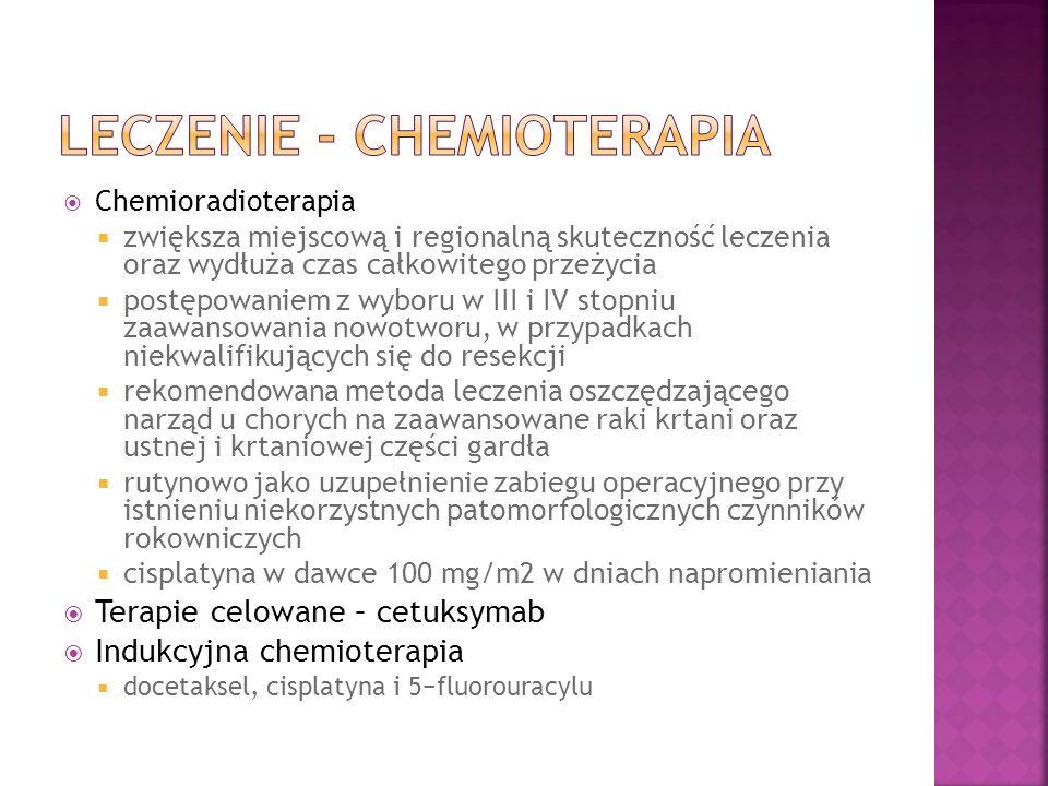 Leczenie - Chemioterapia