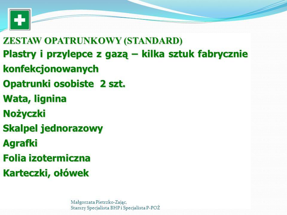 ZESTAW OPATRUNKOWY (STANDARD)