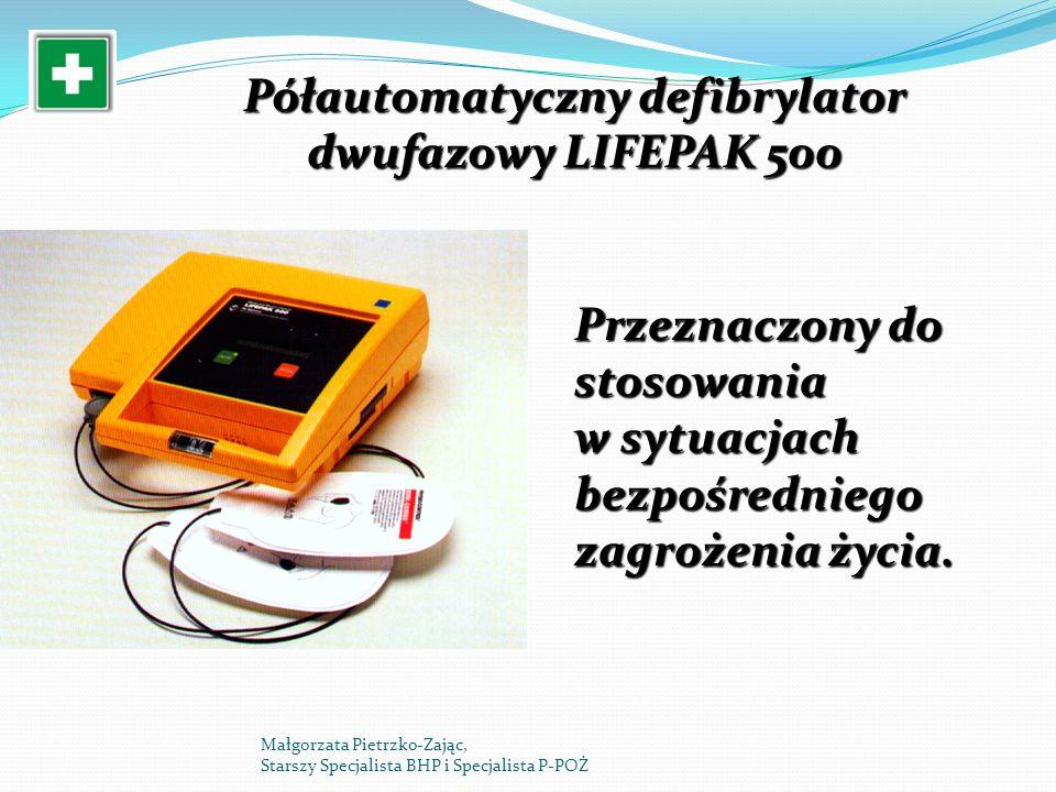 Półautomatyczny defibrylator dwufazowy LIFEPAK 500