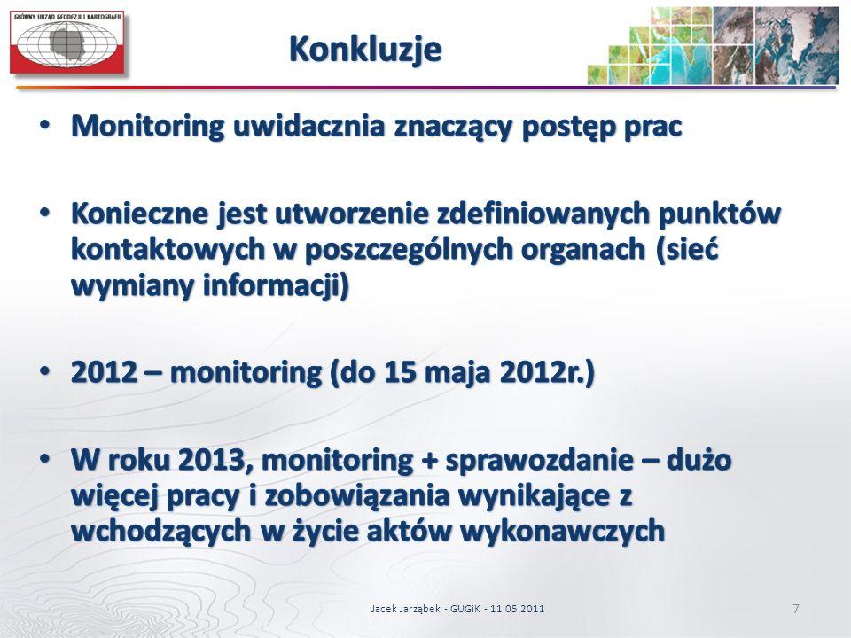 Jacek Jarząbek - GUGiK - 11.05.2011