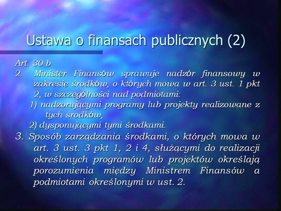 Ustawa o finansach publicznych (2)