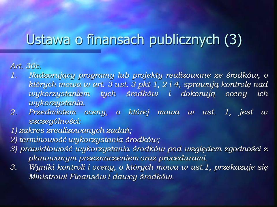 Ustawa o finansach publicznych (3)