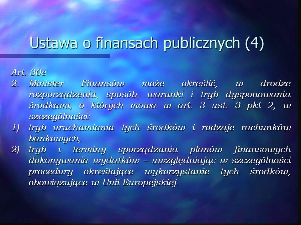 Ustawa o finansach publicznych (4)