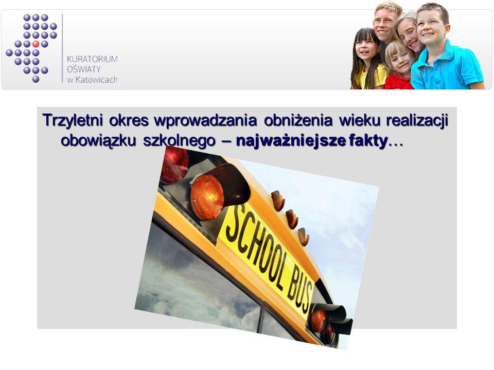 Trzyletni okres wprowadzania obniżenia wieku realizacji obowiązku szkolnego – najważniejsze fakty…