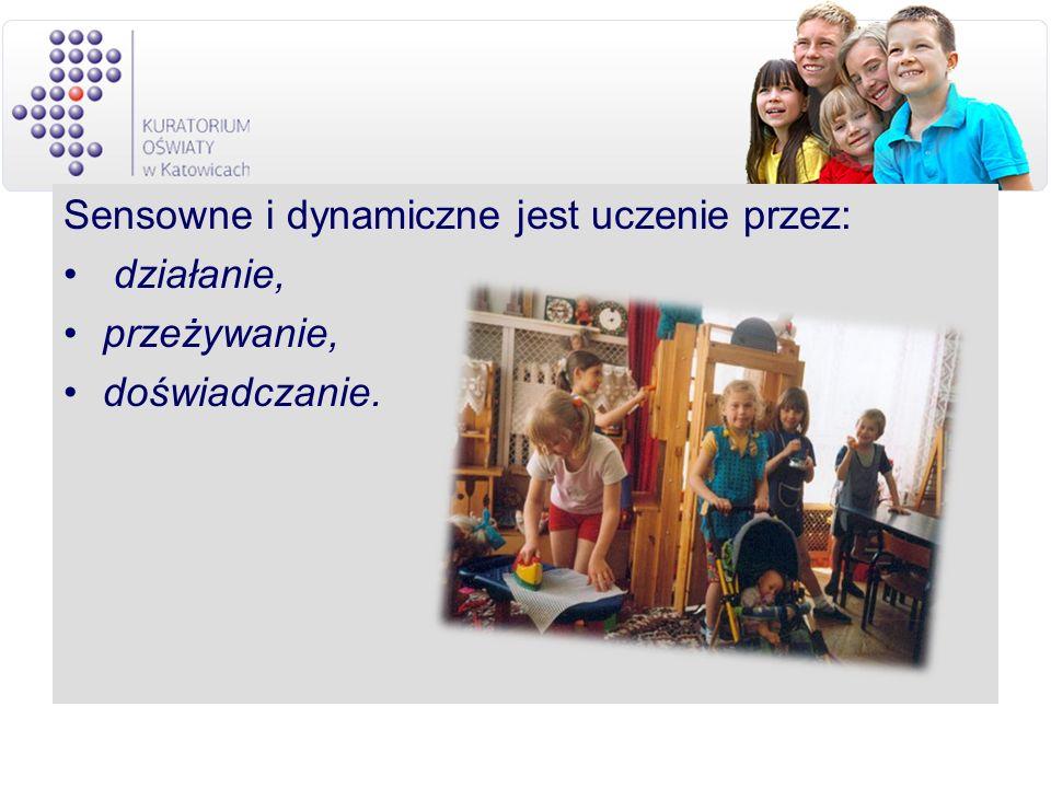 Sensowne i dynamiczne jest uczenie przez: