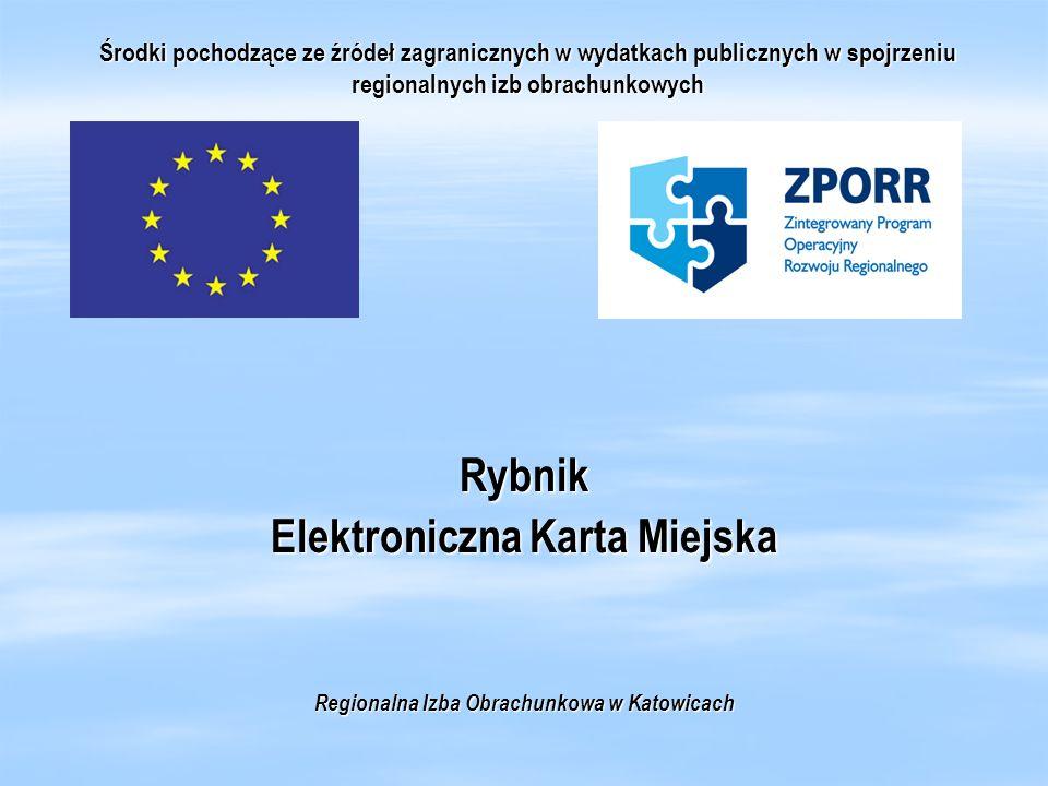 Elektroniczna Karta Miejska Regionalna Izba Obrachunkowa w Katowicach