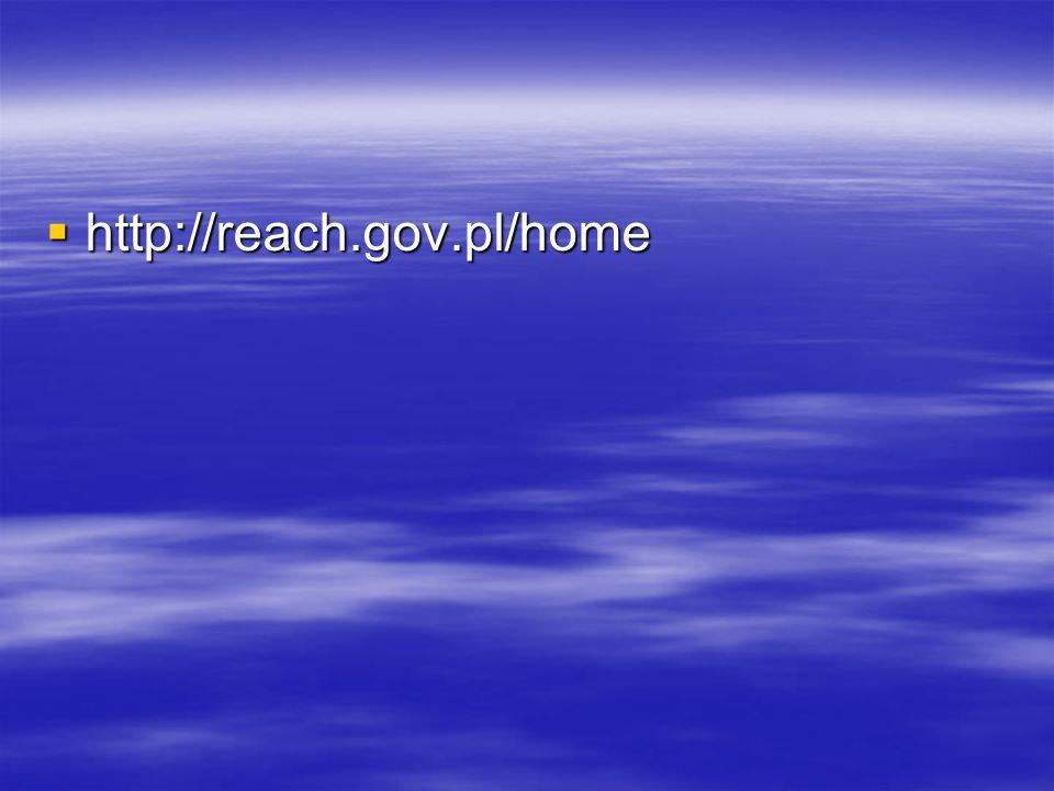 http://reach.gov.pl/home