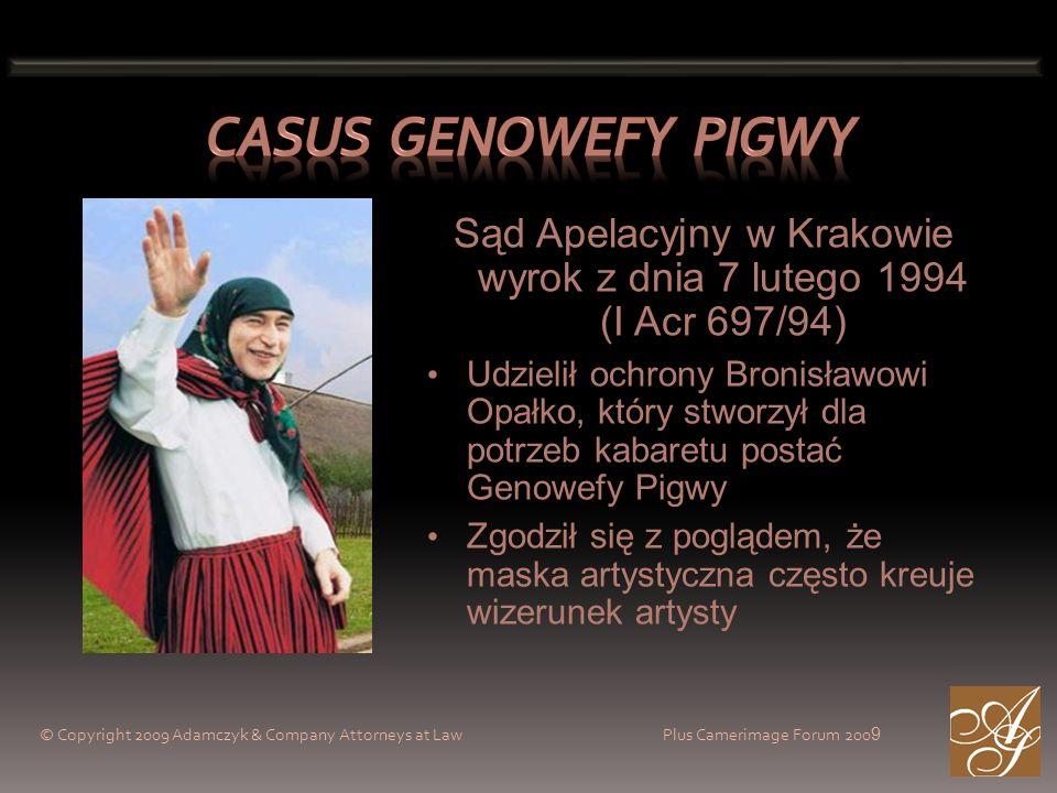 Sąd Apelacyjny w Krakowie wyrok z dnia 7 lutego 1994 (I Acr 697/94)