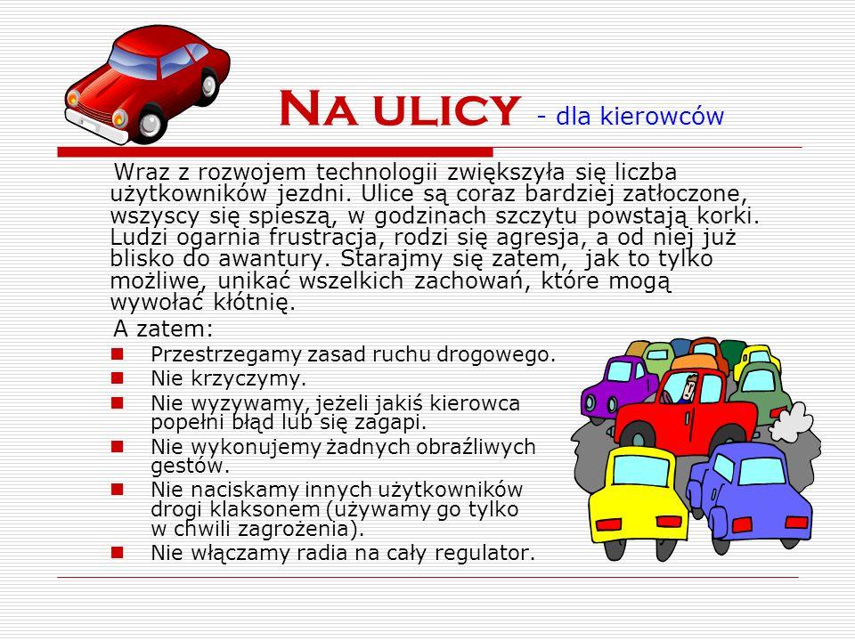 Na ulicy - dla kierowców