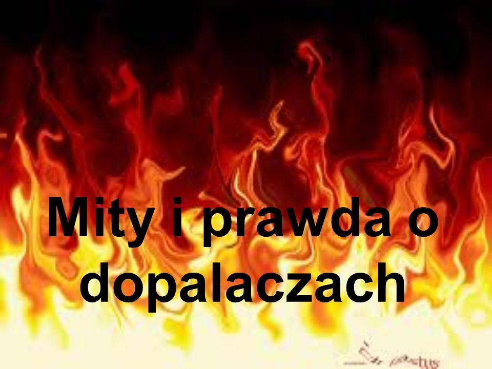Mity i prawda o dopalaczach