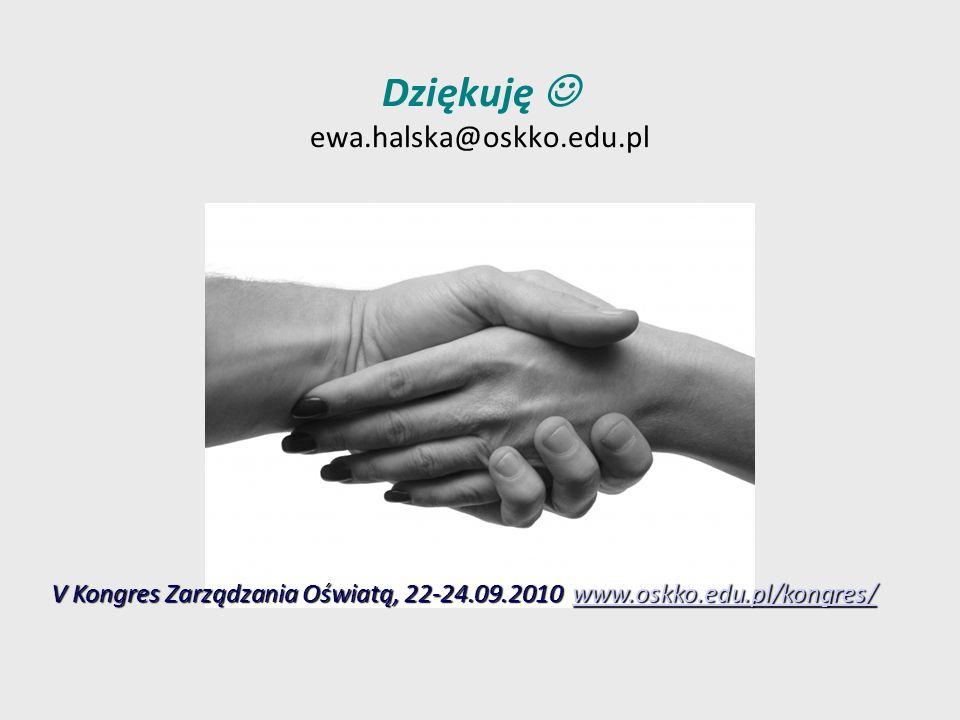 Dziękuję  ewa.halska@oskko.edu.pl