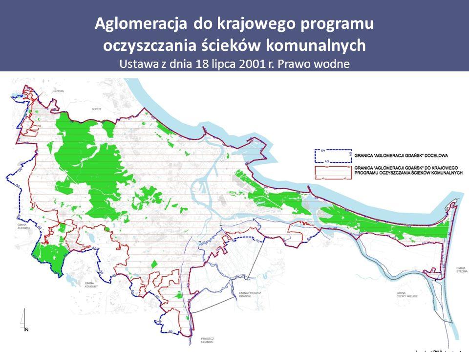 Aglomeracja do krajowego programu oczyszczania ścieków komunalnych