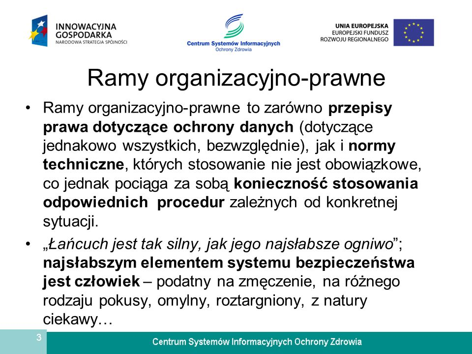 Ramy organizacyjno-prawne