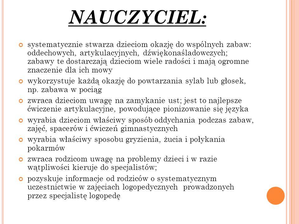 NAUCZYCIEL:
