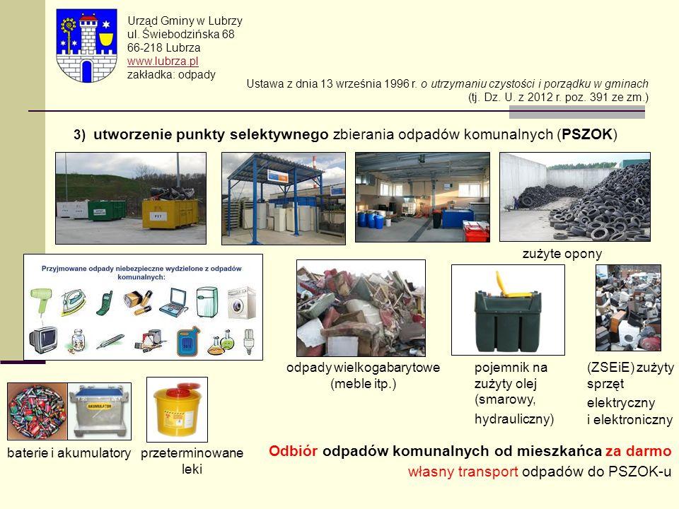 odpady wielkogabarytowe (meble itp.)