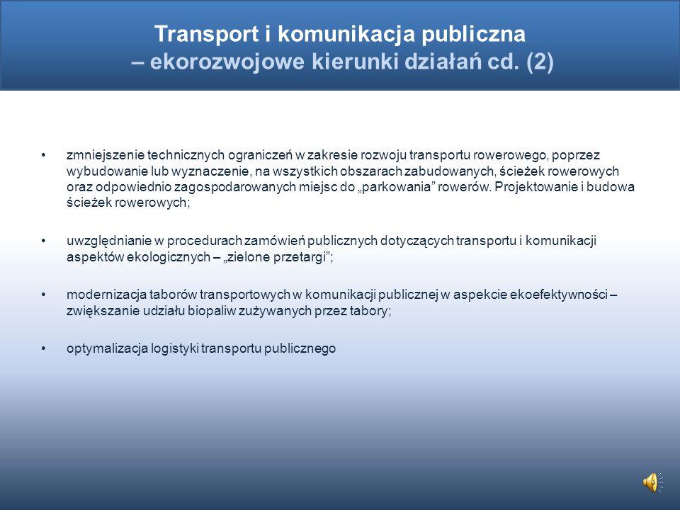 Transport i komunikacja publiczna