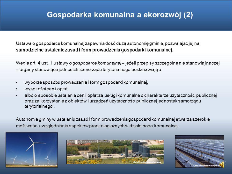 Gospodarka komunalna a ekorozwój (2)