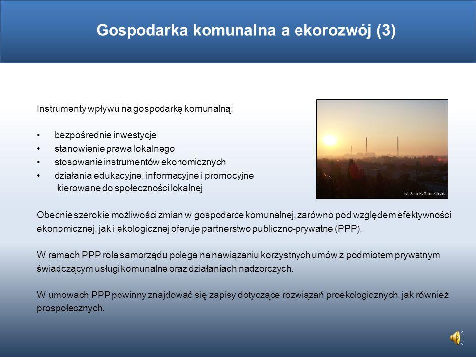 Gospodarka komunalna a ekorozwój (3)