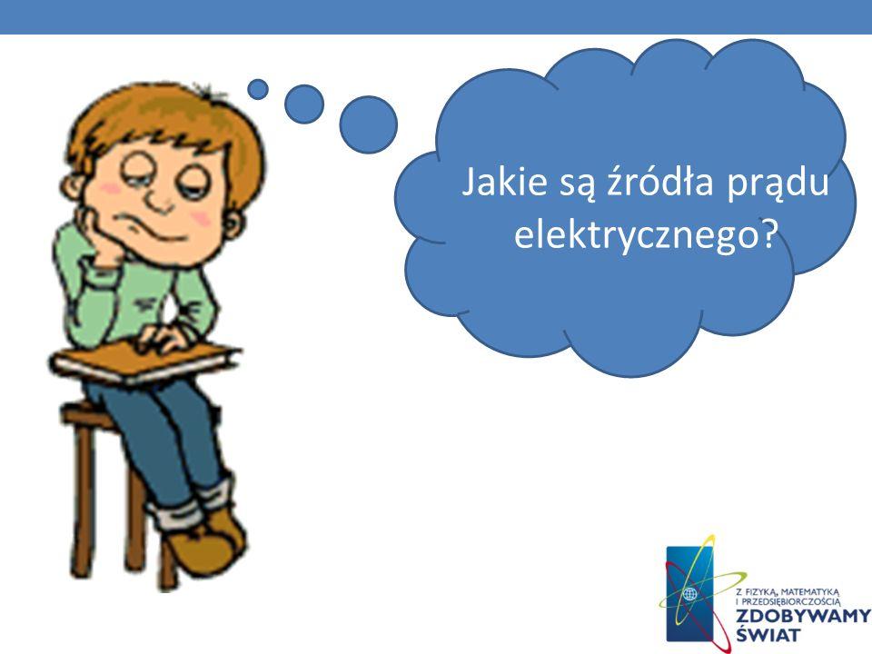 Jakie są źródła prądu elektrycznego