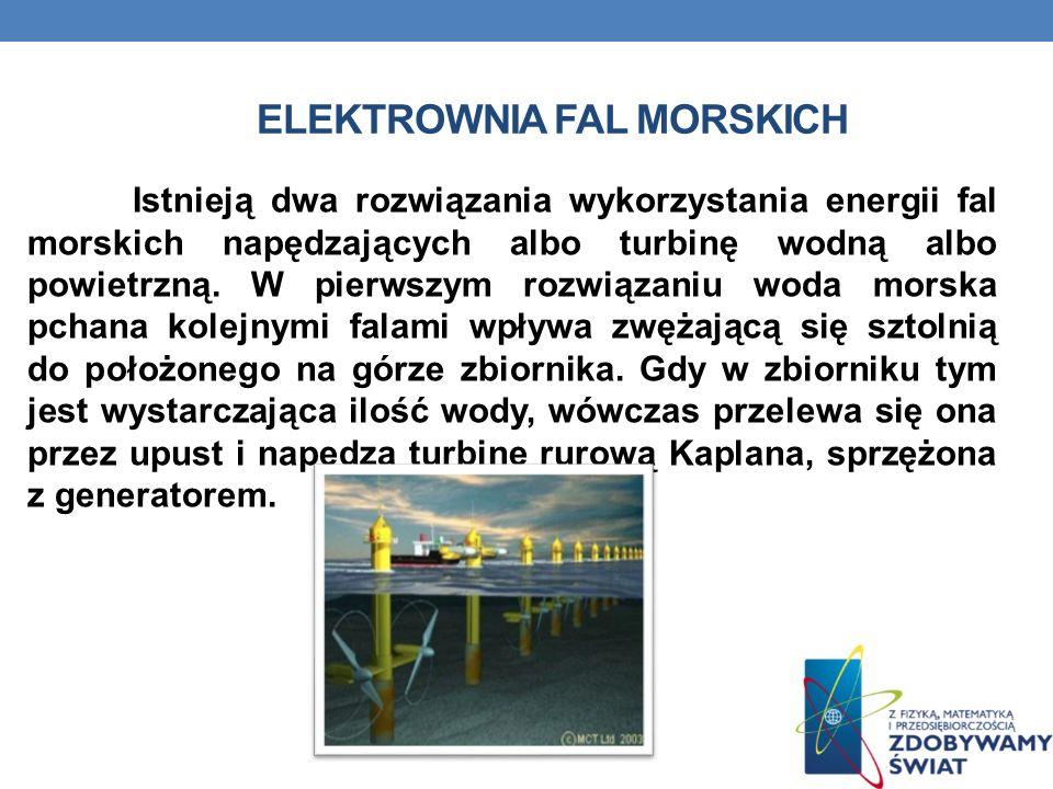 Elektrownia fal morskich