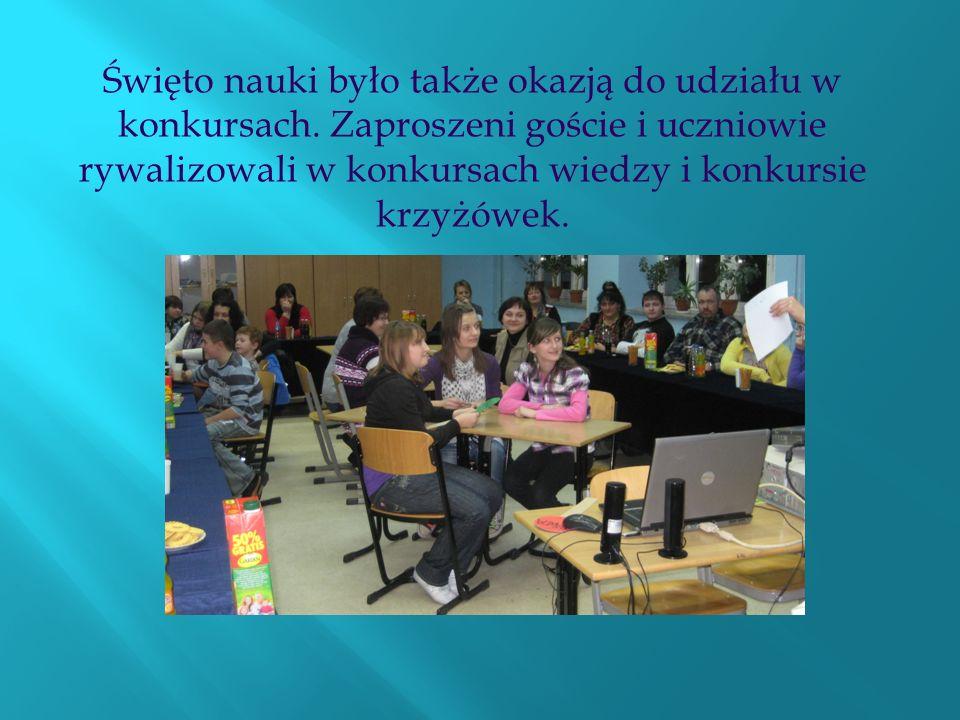 Święto nauki było także okazją do udziału w konkursach