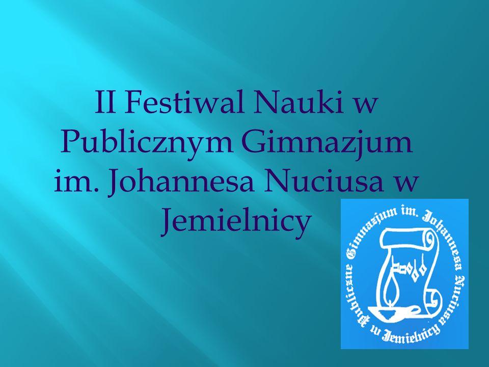 II Festiwal Nauki w Publicznym Gimnazjum