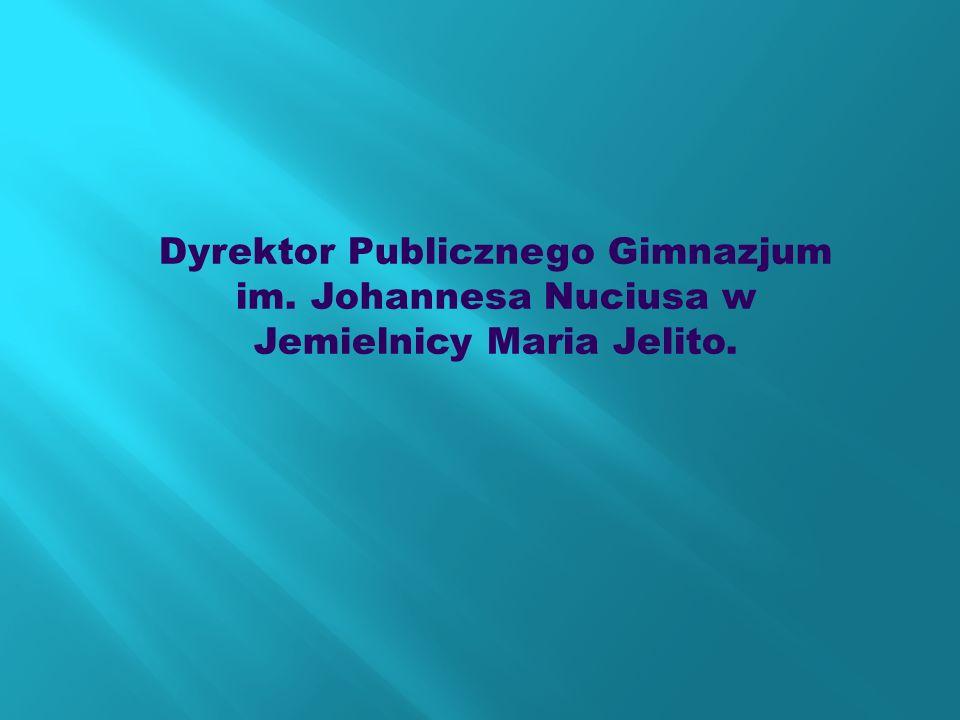 Dyrektor Publicznego Gimnazjum im