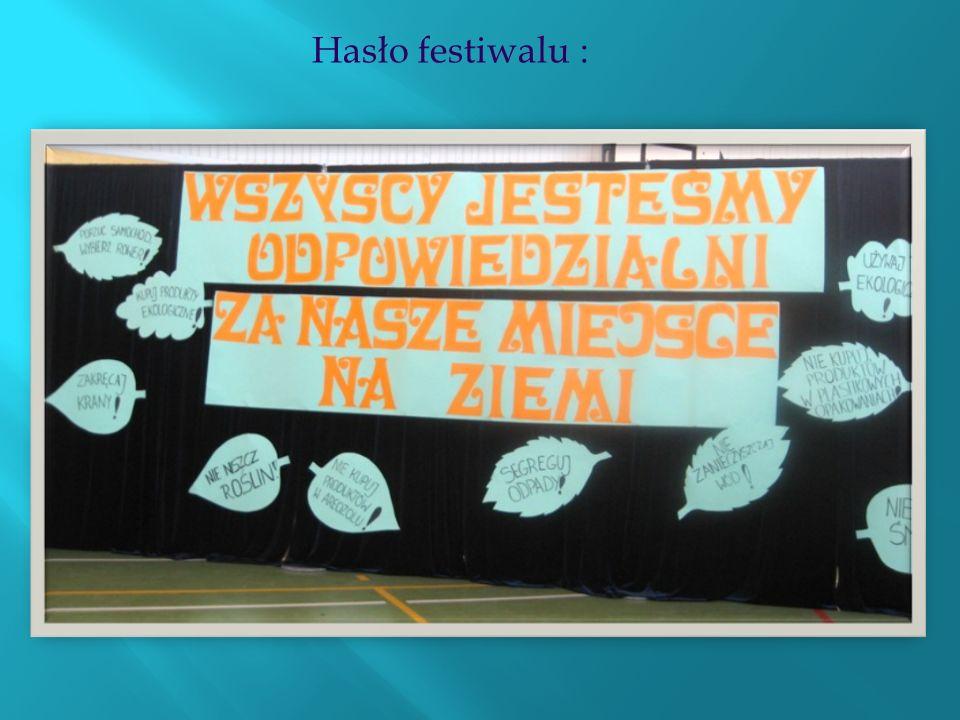 Hasło festiwalu :