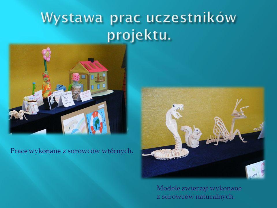 Wystawa prac uczestników projektu.