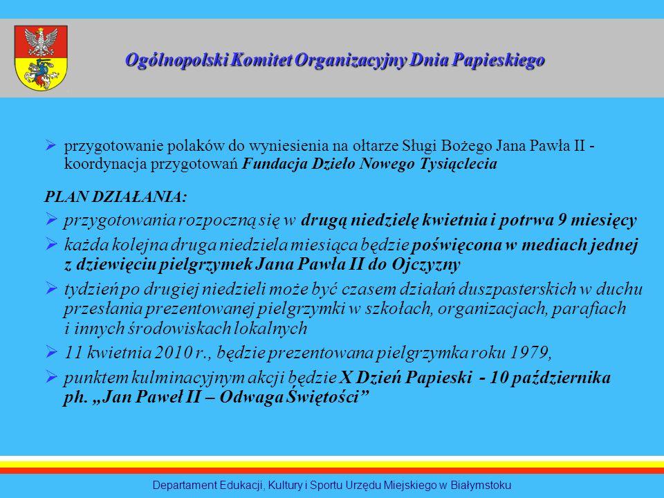 Ogólnopolski Komitet Organizacyjny Dnia Papieskiego
