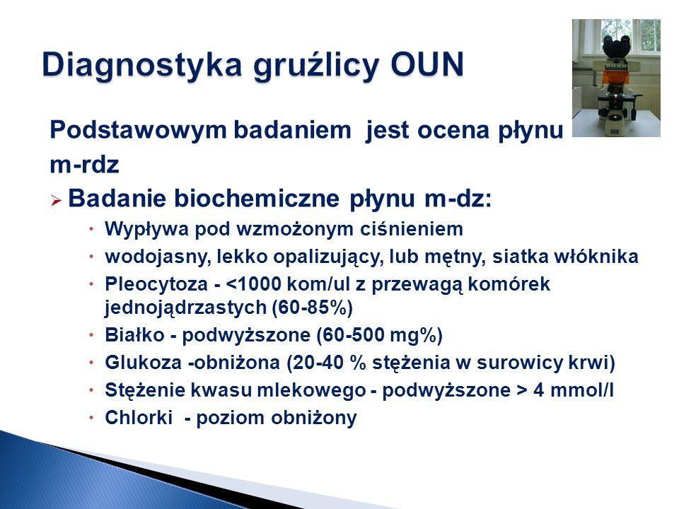 Diagnostyka gruźlicy OUN
