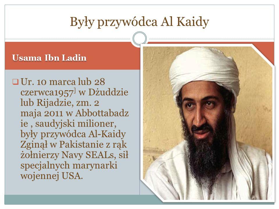 Były przywódca Al Kaidy