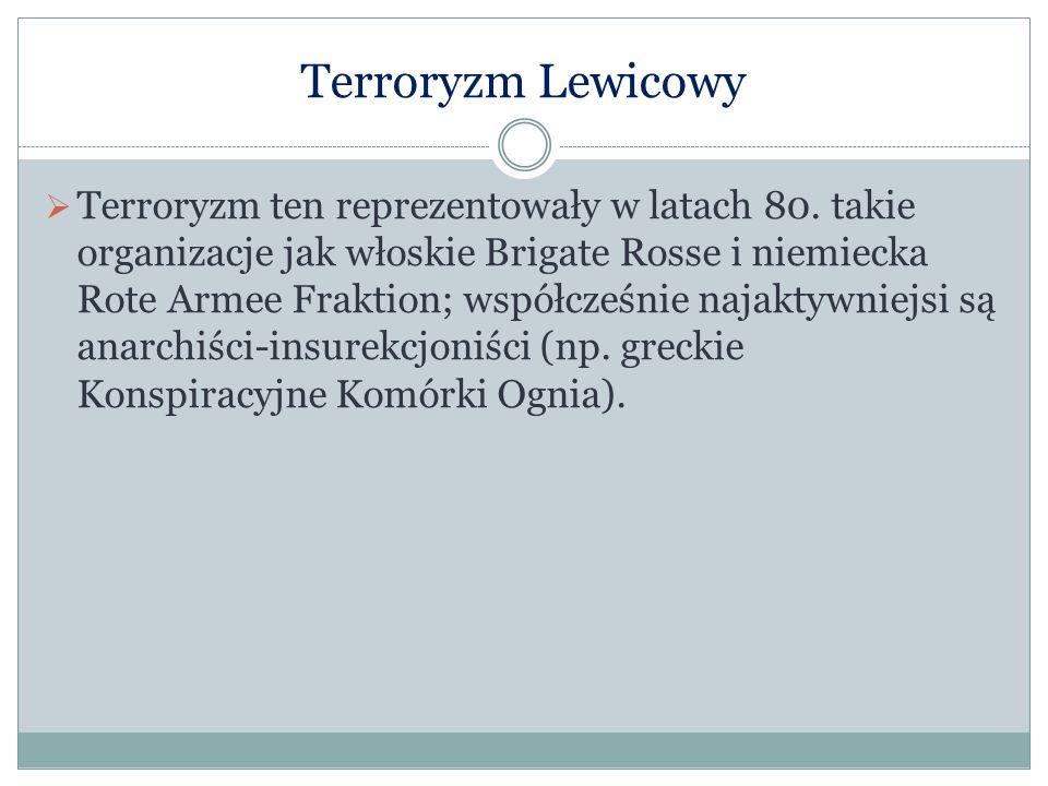 Terroryzm Lewicowy