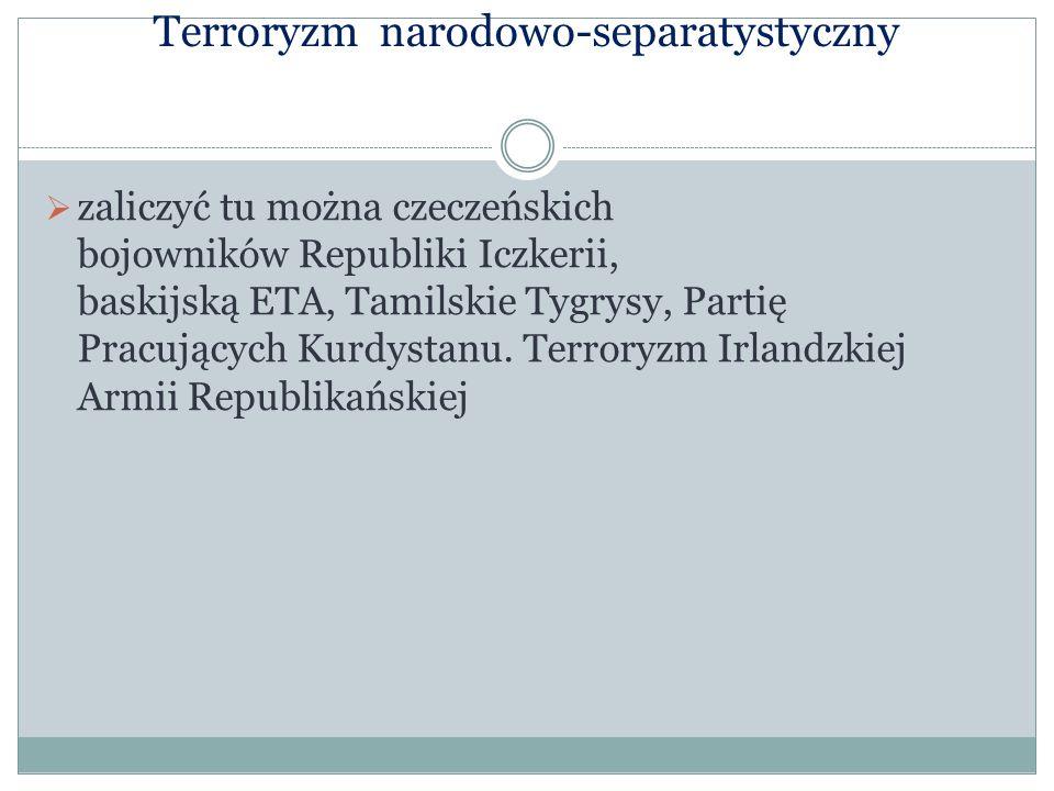 Terroryzm narodowo-separatystyczny