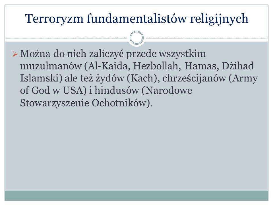 Terroryzm fundamentalistów religijnych